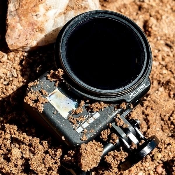 xclear Pro-Repel ND32-Filter 52mm für HERO8 Black