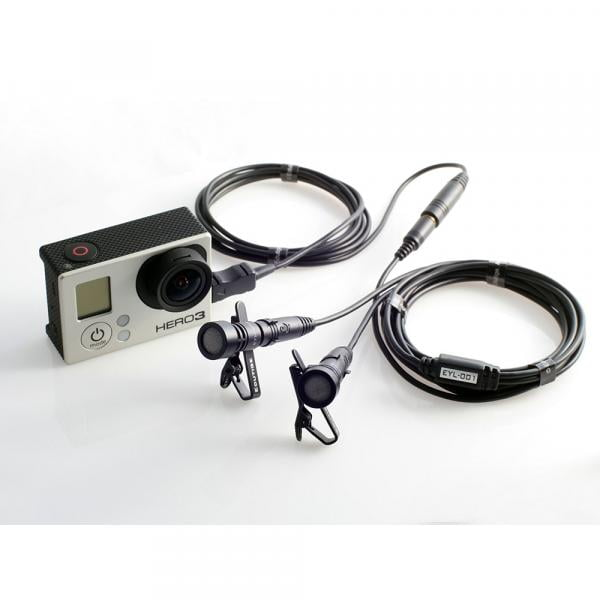 Edutige EYL-001 3,5mm Microphone Stereo Adapter
