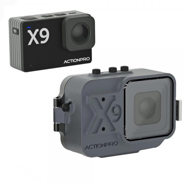 ACTIONPRO X9 Tauchkamera bis 150 Meter