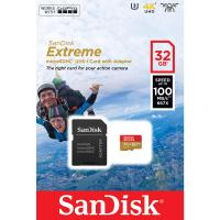 SanDisk 32GB microSDHC Extreme C10 V30 A1 100MB/s REFURBISHED