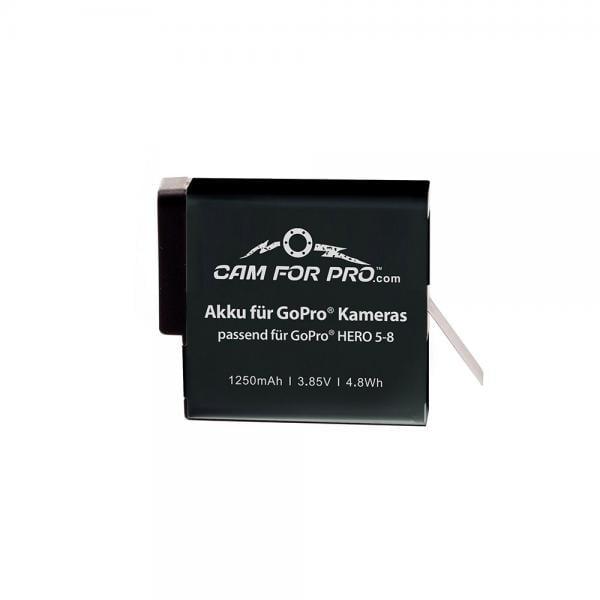 camforpro Powerpack für GoPro HERO5-8 Black