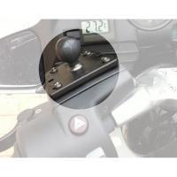 RAM Mounts Motorrad-Basisbefestigung Brems-/Kupplungsbehälter - B-Kugel (zentriert) RAM-B-345U