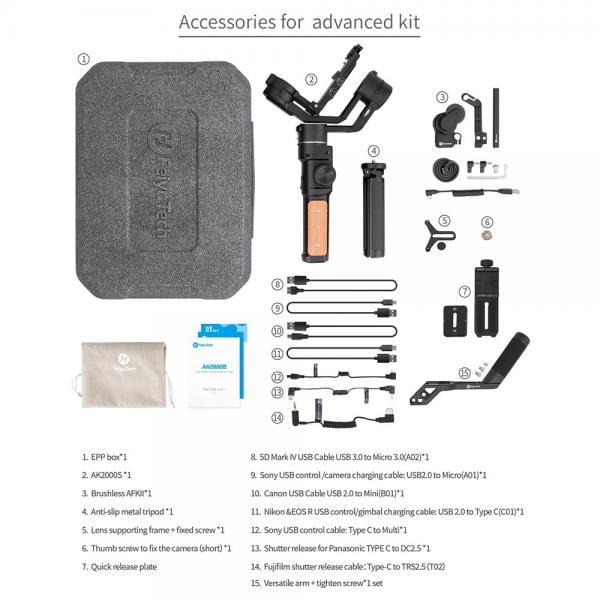 Feiyu-Tech AK2000 S Advanced Kit inkl AKF2
