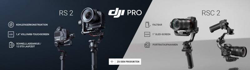 DJI RS 2 & RSC 2