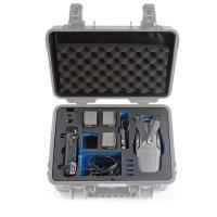 B&W Case 4000 Einsatz für DJI Mavic 2 + Smart Controller