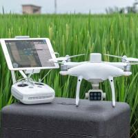 DJI P4 Multispectral & D-RTK 2 Mobile Station