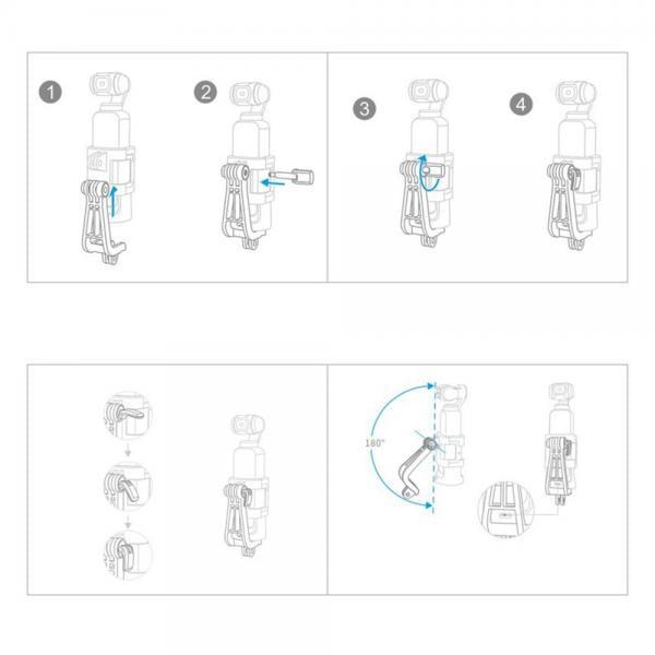 PGYTECH DJI OSMO Pocket Universal Mount Kit