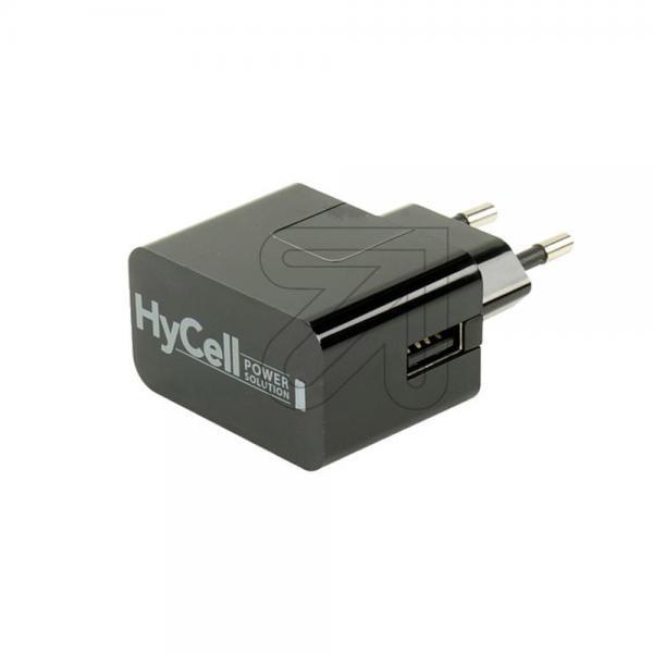 HyCell USB-230V-Netzstecker schwarz