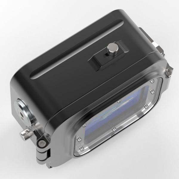 T-HOUSING Aluminium Tieftauchgehäuse für HERO9 Black