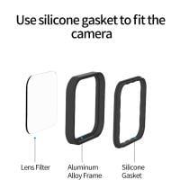 Telesin 4er Filterset für Insta360 ONE R 4K