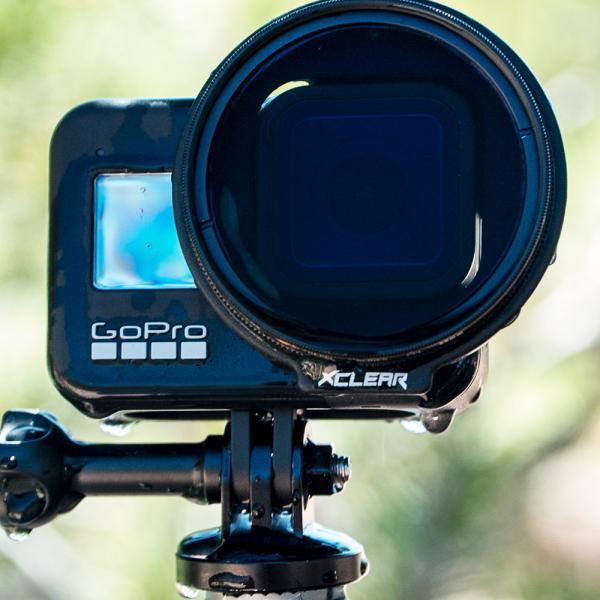 xclear Pro-Repel ND8-Filter 52mm für HERO8 Black