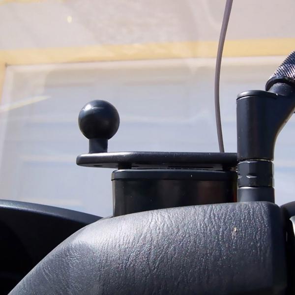 RAM Mounts Motorrad-Basisbefestigung Brems-/Kupplungsbehälter - B-Kugel RAM-B-346U