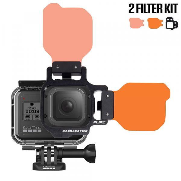 Backscatter FLIP9 2-Filter Kit für HERO5-10 Black