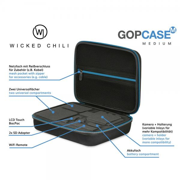 Wicked Chili GOP Case black M