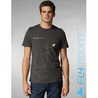 Flymount T-Shirt Fly grau
