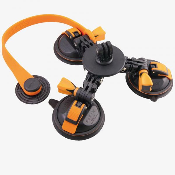 iSHOXS RockSet Dreifach-Suction-Cup System