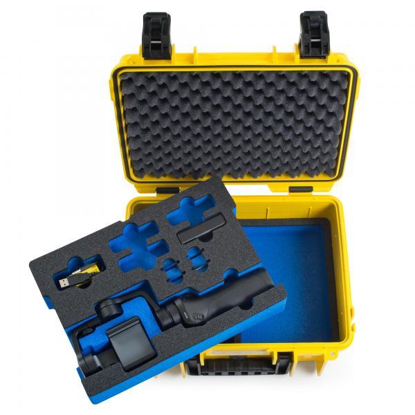 B&W Case 3000 Custom Einsatz für OSMO Mobile
