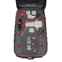 TOMcase RTF-Rucksack schwarz Inlay schwarz/rot für Mavic Air 2