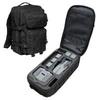 TOMcase Rucksack schwarz Inlay schwarz für Mavic Air 2 & Air 2S + FMC