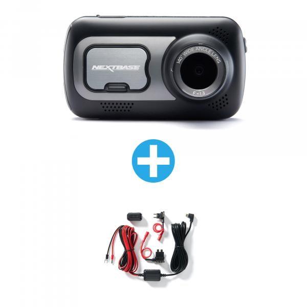 NEXTBASE Dashcam 522GW + Hardwire Kit