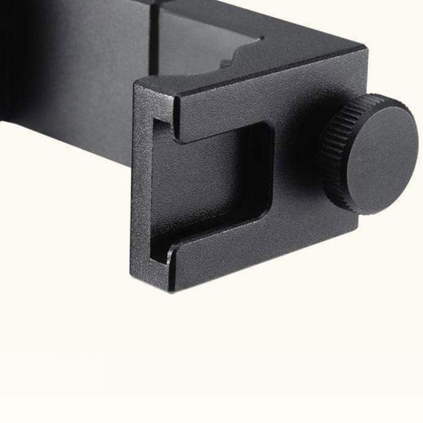 Ulanzi ST-08 Smartphone-Halter mit Rode Wireless Go-Halter black