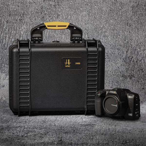 HPRC Case 2400 für Blackmagicdesign Pocket Cinema Camera 6K Pro