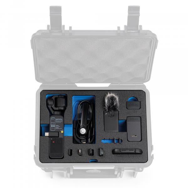B&W Case 500 Einsatz für DJI Pocket 2 Creator Combo