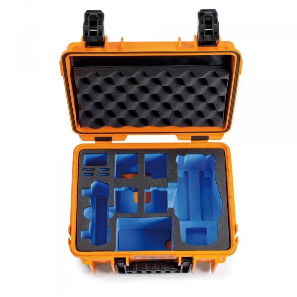 B&W DJI Mavic 2 Pro+Zoom incl. Fly More Kit Case 3000 orange LIMITED