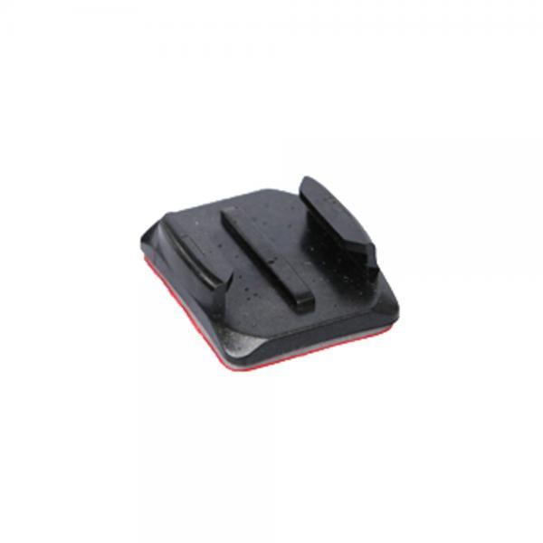 GoPro 3M Montageplatte gebogen