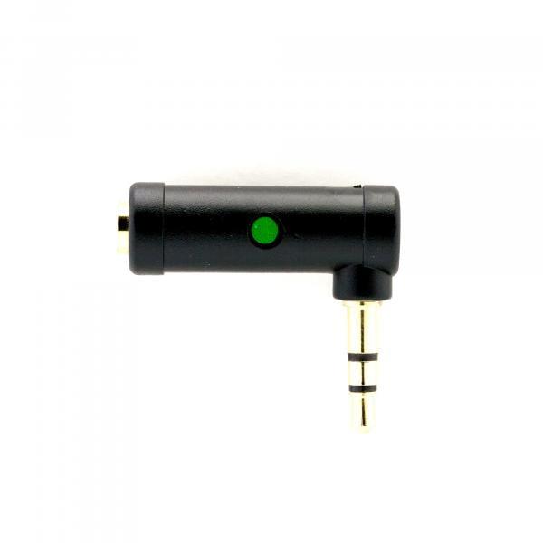 Edutige ETG-004 L-Converter, 3,5mm 4-Pol CTIA-Buchse zu 3-Pol CTIA-Stecker