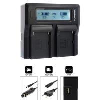 blumax Dualcharger inkl Aufsatz für Sony FM50