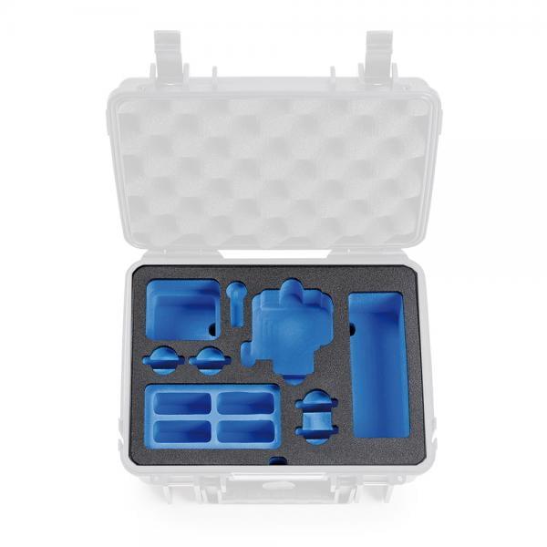 B&W Case 1000 Custom Einsatz für DJI OSMO Action