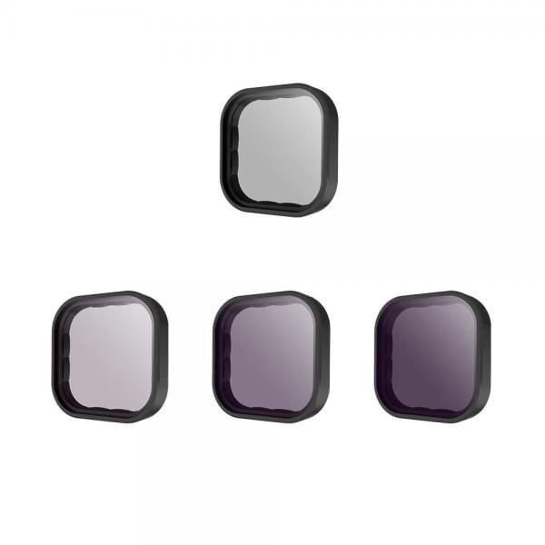 Telesin 4er ND-Filter Set für HERO9 Black