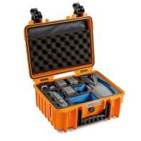 B&W DJI Mavic 2 Pro+Zoom incl. Fly More Kit Case 3000 orange LIMITED REFURBISHED