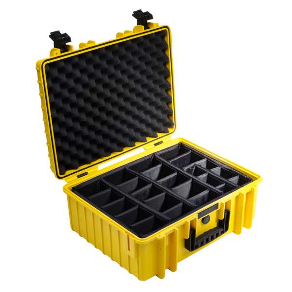 B&W Outdoor Case 6000 yellow