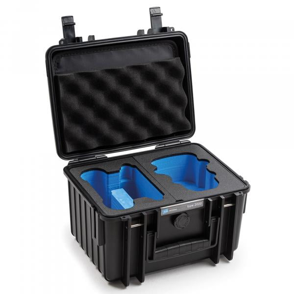 B&W DJI Mini 2 Fly More Combo Case 2000