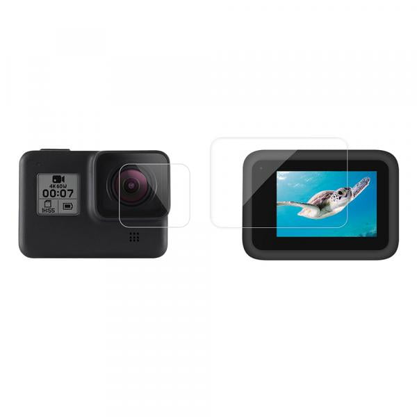 Telesin Linsen- & LCD Screen Schutzfolie für HERO8 Black