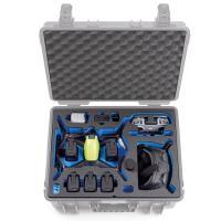 B&W Case 6000 Custom Einsatz für DJI FPV Combo