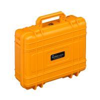 B&W Case 10 orange leer