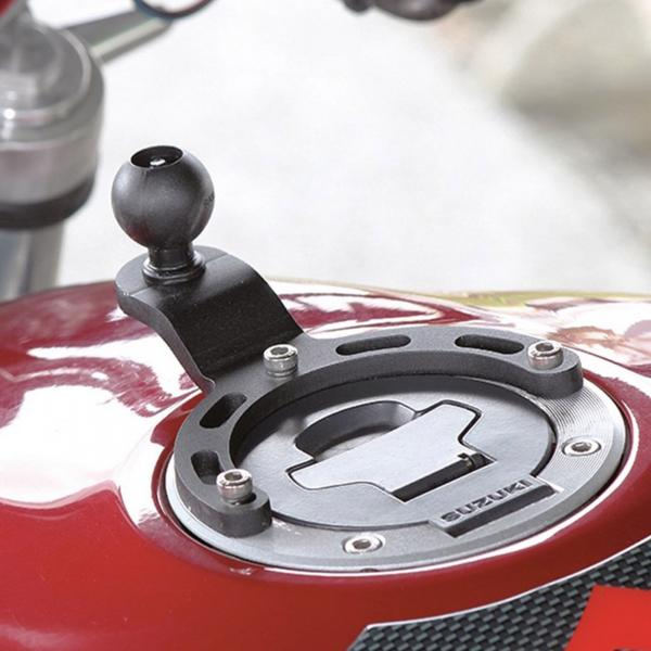 RAM Mounts Motorradtank-Basis (Honda / Suzuki / Yamaha) - mit B-Kugel RAM-B-410U