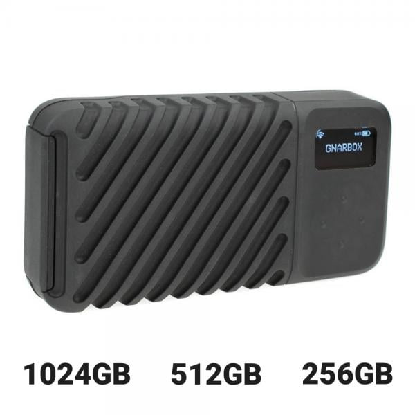 GNARBOX2.0 SSD Backup-Festplatte App-gesteuert stand-alone