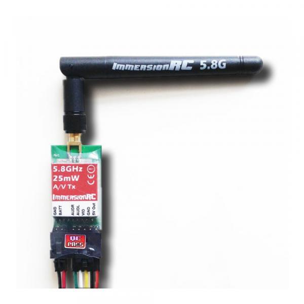 5,8 GHz ImmersionRC 25 mW A/V Sender