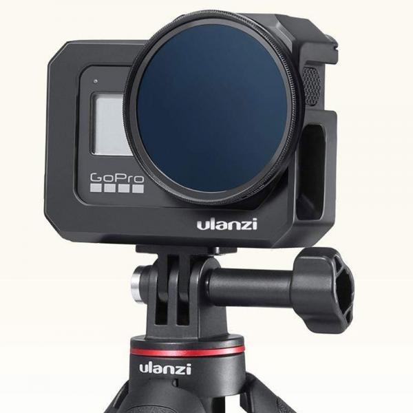 Ulanzi G8-5 Portable Vlog Metal Cage für HERO8 Black