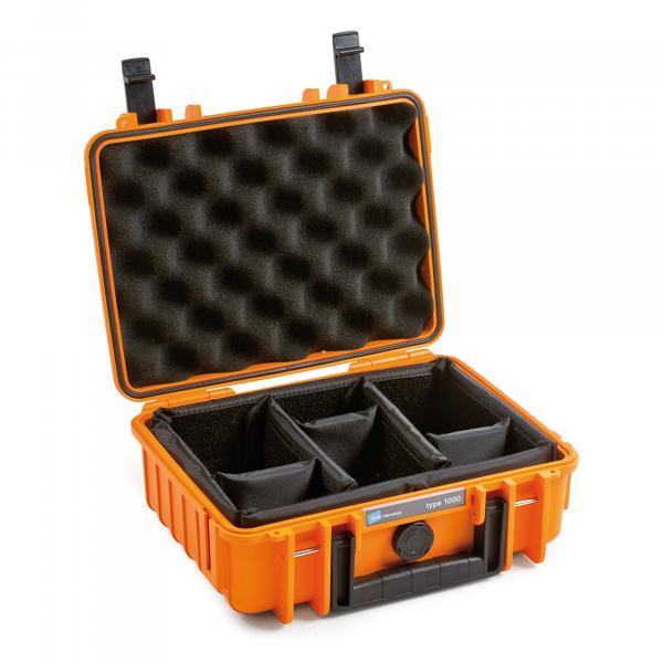 B&W Outdoor Case 1000 orange RPD