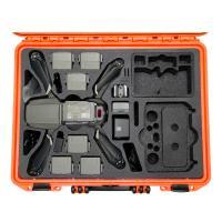 TOMcase XT465 orange Inlay schwarz für Mavic 2