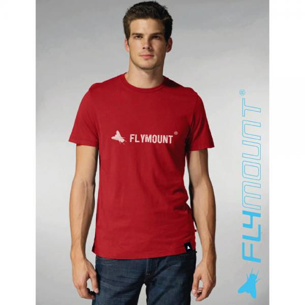 Flymount T-Shirt Logo weinrot