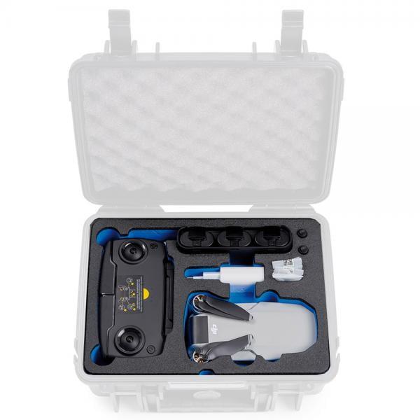 B&W Case 1000 Custom Einsatz für DJI Mavic Mini inkl Fly More Combo
