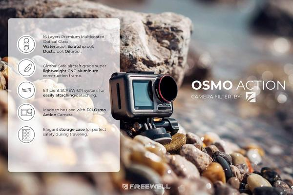 Freewell Gear OSMO Action Camera Bright Day