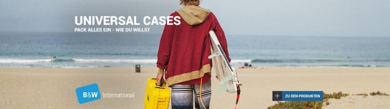 B&W Universal Cases