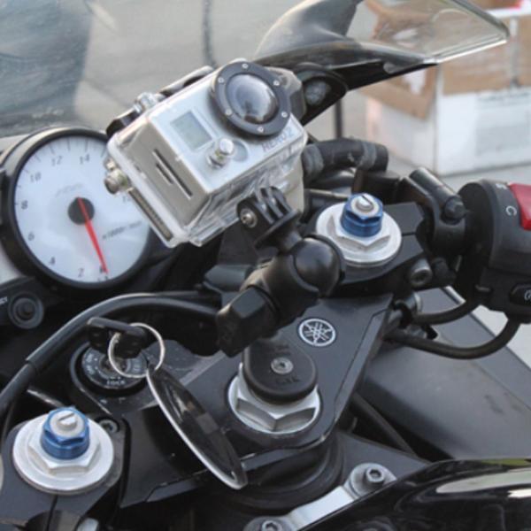 RAM Mounts Motorrad-Basisbefestigung Lenkerkopf - B-Kugel (1 Zoll) RAM-B-342U